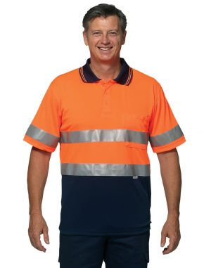 Hi-Vis Polo with 3M Tapes