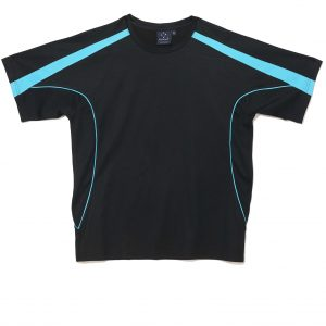 TS54 - Black/Aqua Blue