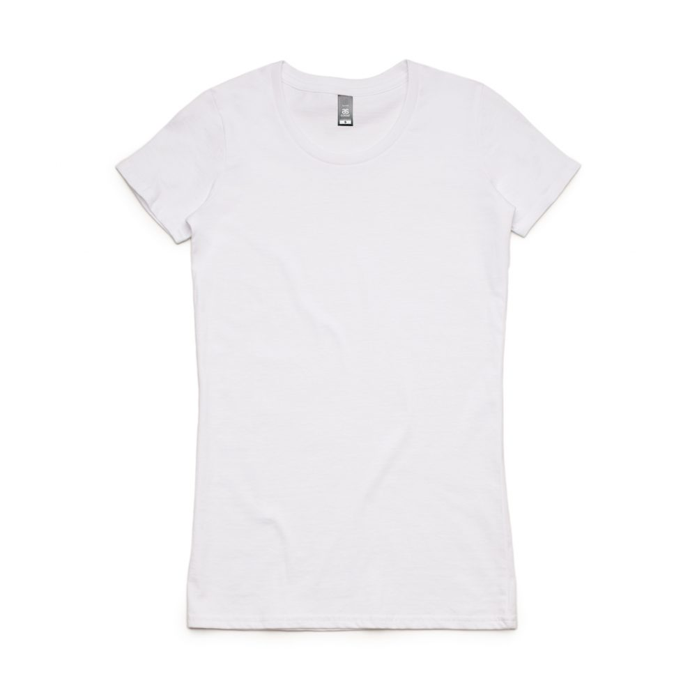 4002 WAFER TEE - WHITE