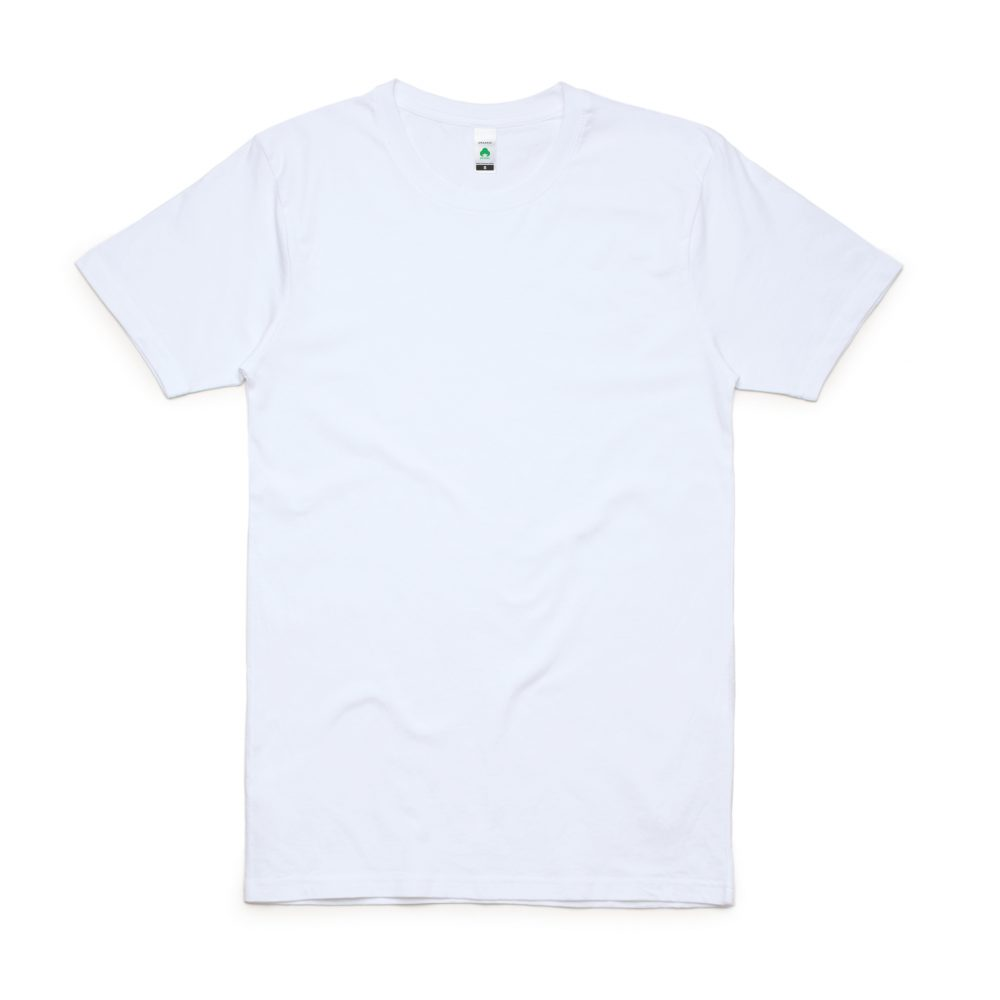 5005 ORGANIC TEE - WHITE