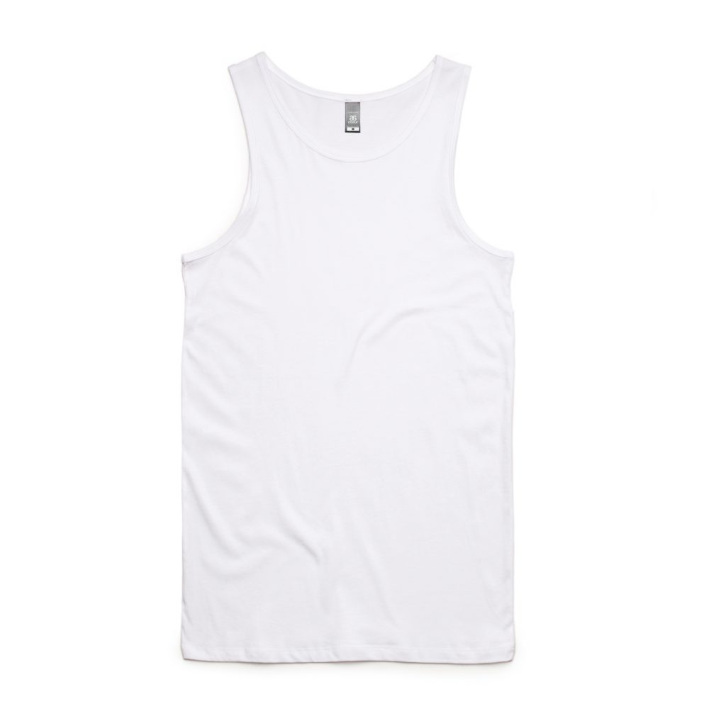 5007 LOWDOWN SINGLET - WHITE