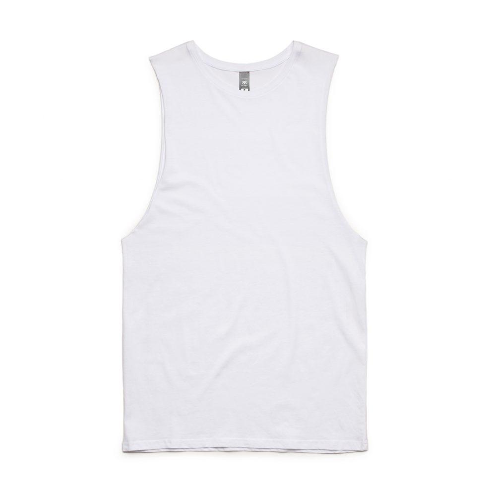 5025 BARNARD TANK TEE - WHITE