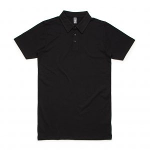 5402 CHAD POLO - BLACK