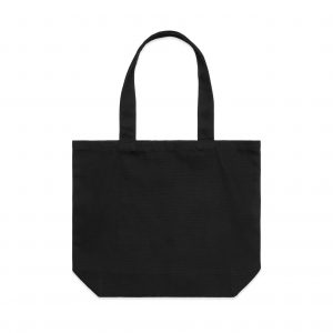 1002 SHOULDER TOTE - BLACK