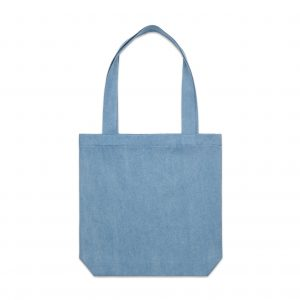 1012 DENIM CARRIE TOTE