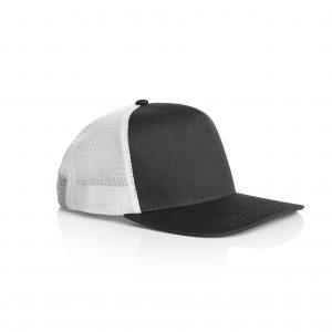 1110 TONE TRUCKER CAP - BLACK/WHITE